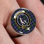 ScottishShop Fletcher Modern - Crest Tartan Ring