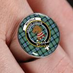 ScottishShop Melville - Crest Tartan Ring