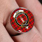 ScottishShop Bain - Crest Tartan Ring