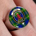 ScottishShop Maitland - Crest Tartan Ring