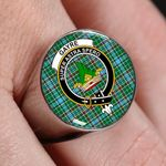 ScottishShop Gayre - Crest Tartan Ring