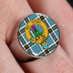 ScottishShop Thomson - Crest Tartan Ring