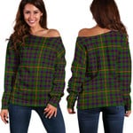TartanClans Hall  Women's Off Shoulder Sweater