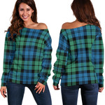 TartanClans Campbell Ancient 01  Women's Off Shoulder Sweater