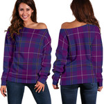 TartanClans Pride Of Glencoe  Women's Off Shoulder Sweater