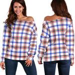 TartanClans Boswell Modern  Women's Off Shoulder Sweater