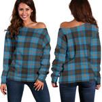 TartanClans Angus Ancient  Women's Off Shoulder Sweater