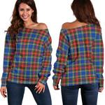 TartanClans Macbeth Modern  Women's Off Shoulder Sweater