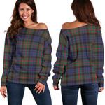 TartanClans Fletcher Of Dunans  Women's Off Shoulder Sweater