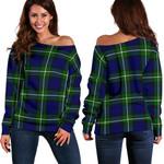 TartanClans Forbes Modern  Women's Off Shoulder Sweater