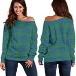 TartanClans Montgomery Ancient  Women's Off Shoulder Sweater