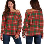 TartanClans Princess Margaret  Women's Off Shoulder Sweater