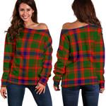 TartanClans Nithsdale District  Women's Off Shoulder Sweater