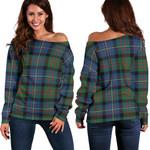 TartanClans Cameron Of Erracht Ancient  Women's Off Shoulder Sweater