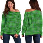 TartanClans Currie  Women's Off Shoulder Sweater