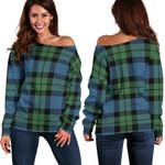 TartanClans Mackay Ancient  Women's Off Shoulder Sweater