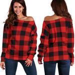 TartanClans Rob Roy Macgregor Modern  Women's Off Shoulder Sweater