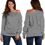 TartanClans Shepherd  Women's Off Shoulder Sweater