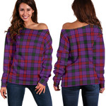 TartanClans Montgomery Modern  Women's Off Shoulder Sweater
