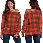 TartanClans Macfie  Women's Off Shoulder Sweater