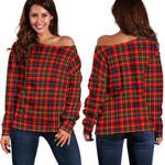 TartanClans Innes Modern  Women's Off Shoulder Sweater