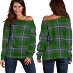TartanClans Pringle  Women's Off Shoulder Sweater