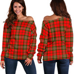 TartanClans Scott Modern  Women's Off Shoulder Sweater