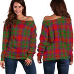 TartanClans Mackintosh Modern  Women's Off Shoulder Sweater