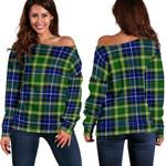 TartanClans Mackellar  Women's Off Shoulder Sweater
