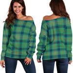TartanClans Kennedy Ancient  Women's Off Shoulder Sweater