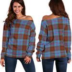 TartanClans Anderson Modern  Women's Off Shoulder Sweater