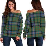 TartanClans Cochrane Ancient  Women's Off Shoulder Sweater