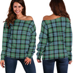 TartanClans Melville  Women's Off Shoulder Sweater