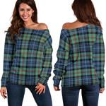 TartanClans Mackinlay Ancient  Women's Off Shoulder Sweater
