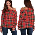 TartanClans Stuart Of Bute  Women's Off Shoulder Sweater