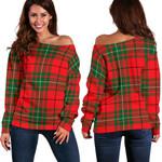 TartanClans Macaulay Modern  Women's Off Shoulder Sweater