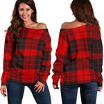 TartanClans Macleod Of Raasay  Women's Off Shoulder Sweater