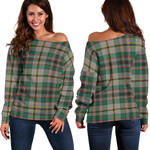 TartanClans Craig Ancient  Women's Off Shoulder Sweater
