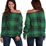 TartanClans Macarthur Ancient  Women's Off Shoulder Sweater