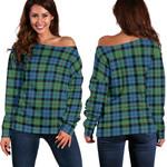 TartanClans Macewen Ancient  Women's Off Shoulder Sweater