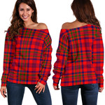 TartanClans Murray Of Tulloch Modern  Women's Off Shoulder Sweater