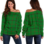 TartanClans Don (Tribe-Of-Mar)  Women's Off Shoulder Sweater