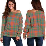 TartanClans Mackintosh Ancient  Women's Off Shoulder Sweater