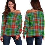 TartanClans Muirhead  Women's Off Shoulder Sweater