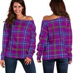 TartanClans Jackson  Women's Off Shoulder Sweater