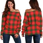 TartanClans Macphee Modern  Women's Off Shoulder Sweater