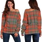 TartanClans Macdougall Ancient  Women's Off Shoulder Sweater