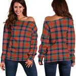TartanClans Macduff Ancient  Women's Off Shoulder Sweater