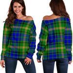 TartanClans Maitland  Women's Off Shoulder Sweater