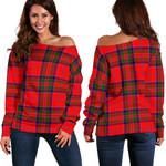TartanClans Macgillivray Modern  Women's Off Shoulder Sweater